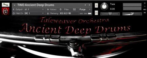 Ancient Deep Drums
