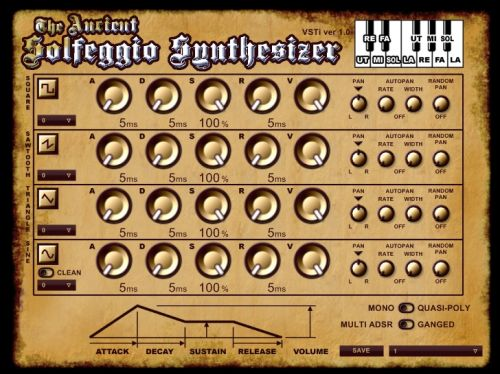 Ancient Solfeggio Synthesizer