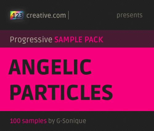 Angelic particles - mini samplepack (in cooperation with G-Sonique)