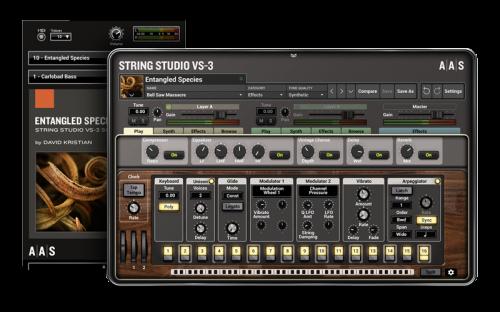 Entangled Species - String Studio VS-3