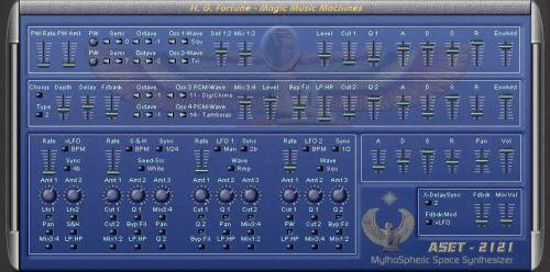 ASET-2121 - MythoSpheric Space Synthesizer