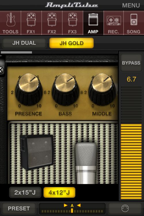AmpliTube Jimi Hendrix for iPhone