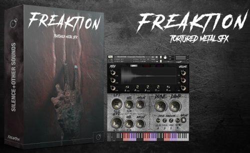 FREAKTION - Tortured Metal SFX Kontakt library
