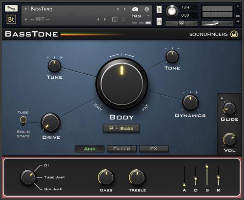BassTone UI