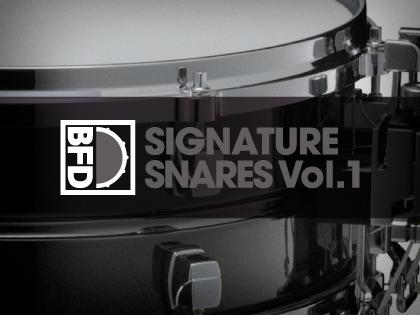 BFD Signature Snares Vol.1