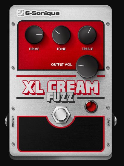 G-Sonique XL Cream Fuzz