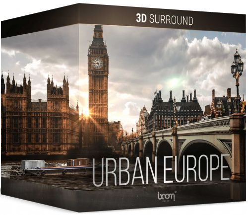 Urban Europe 3D Surround or Stereo
