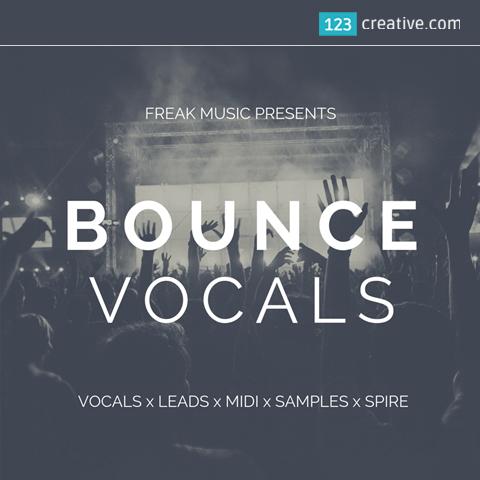 Bounce vocals construction kit