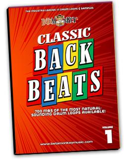 Classic Backbeats I   Vintage and retro drum beats of rock, surf, pop, blues