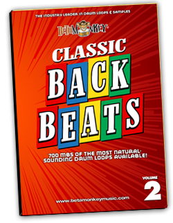 Classic Backbeats II: Live studio drums for rock and roll, MoTown, 60s rock, songwriters