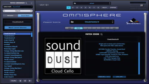 Cloud Cello Omnisphere 2 edition