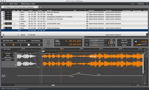 HOFA CD-Burn.DDP.Master (App)