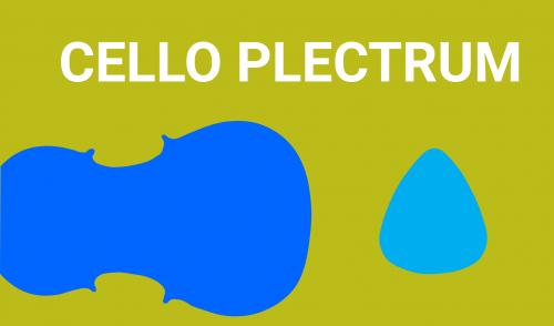 Cello Plectrum