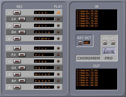 ChordMem Pro