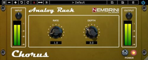 NA Analog Rack Chorus