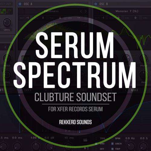 Clubture Soundset - Serum Spectrum