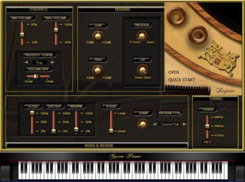 Cocoa Piano