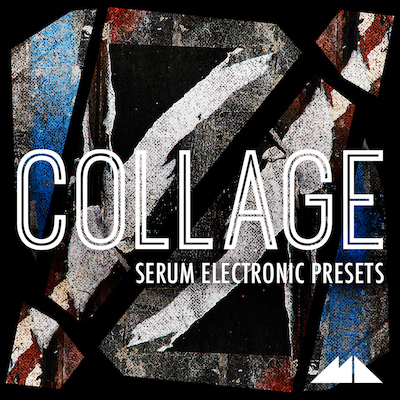 Collage: Serum Electronic Presets