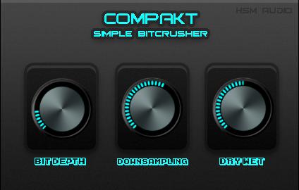 COMPAKT Simple Bitcrusher
