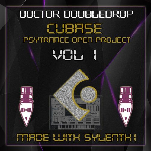 Cubase Psytrance Open Project Vol.1 - Made with sylenth1
