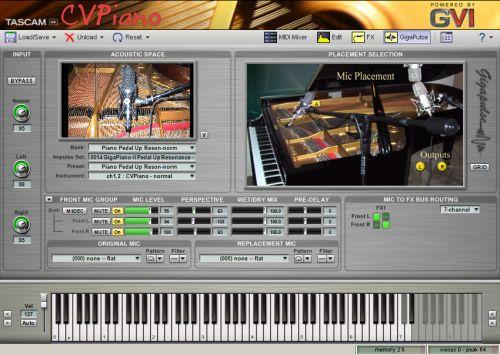 CVPiano (Continuous Velocity Piano)