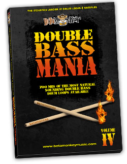 Double Bass Mania IV   Groove Metal Drum Loops and Samples