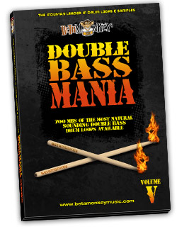 Double Bass Mania V   Doom Metal Drum Loops and Samples