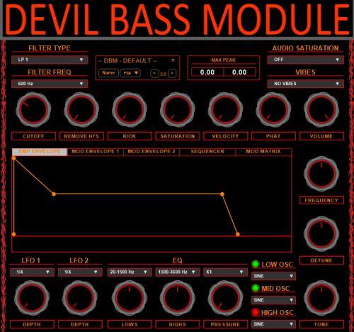 Devil Bass Module
