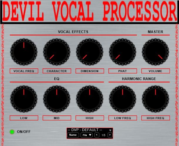 Devil Vocal Processor