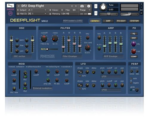Deepflight 2 Kontakt edition
