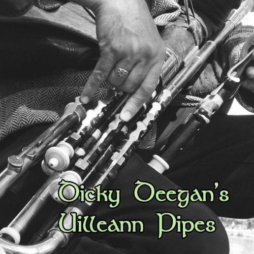 Dicky Deegan's uilleann pipes