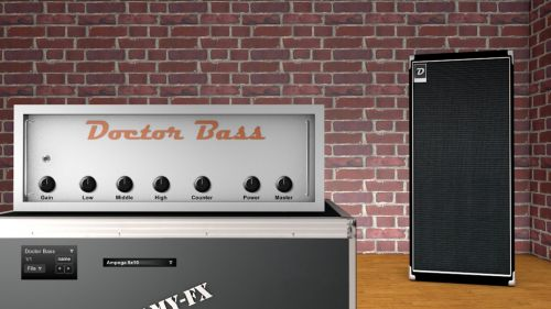 Doctor BASS Tube Amp and Cabinet