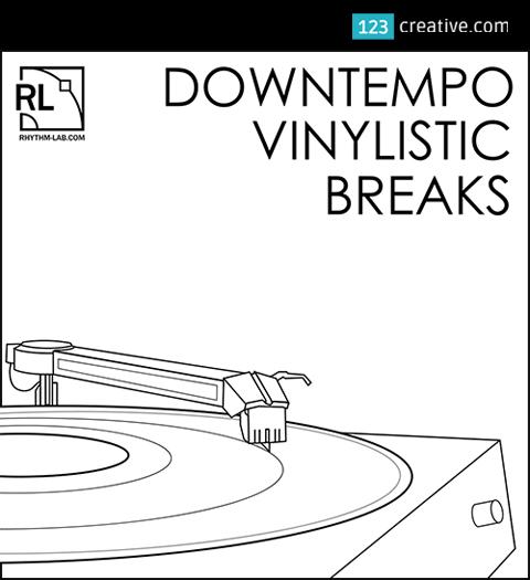 Downtempo vinylistic breaks - drum breaks and loops