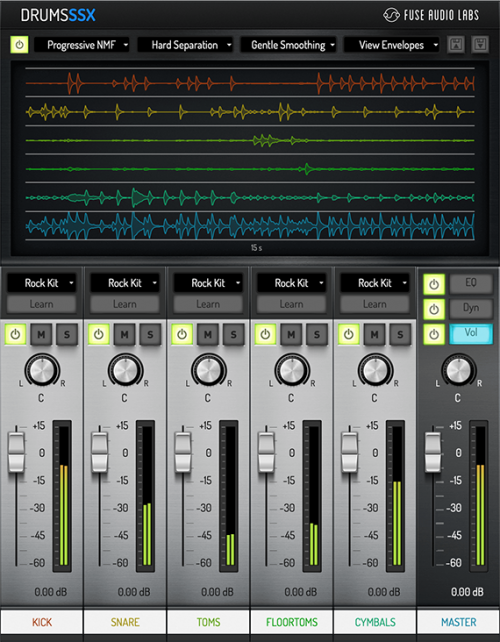 DrumsSSX - Drum signal Un- and Remixing tool
