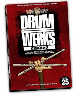 Drum Werks XXV | Up-Tempo 6/8 Drum Loops