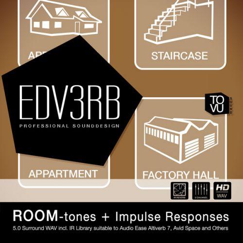 EdV3rb – ROOMtones + Impulse Responses