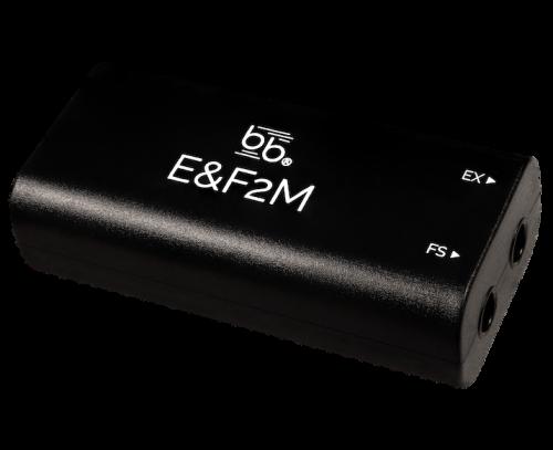 E&F2M - Dual MIDI adapter