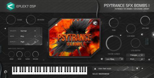 Psytrance SFX bombs 1