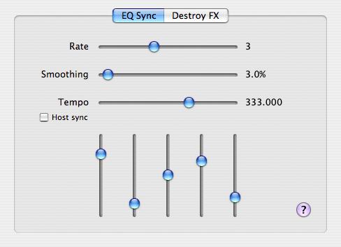 DFX EQ Sync