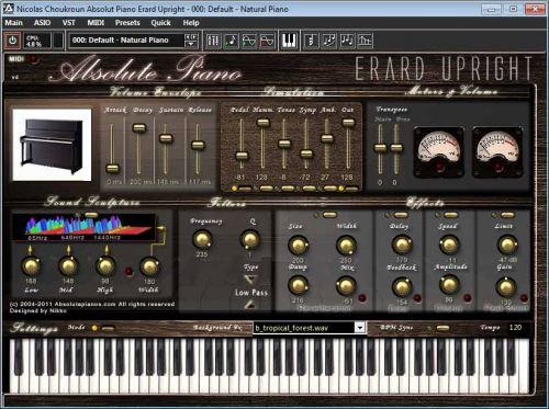 Absolute Piano Virtual Erard Upright