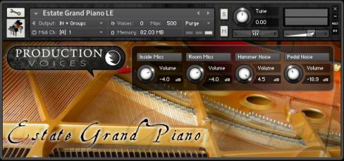 Estate Grand Piano LE