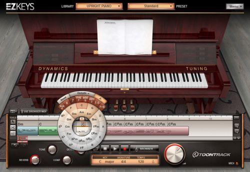 EZkeys Upright Piano
