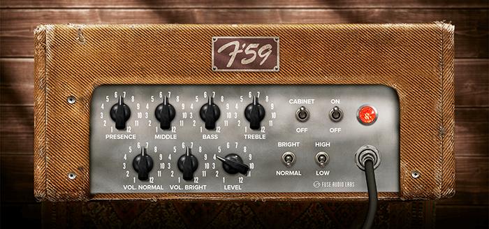 F-59 Classic Guitar Amp Emulation