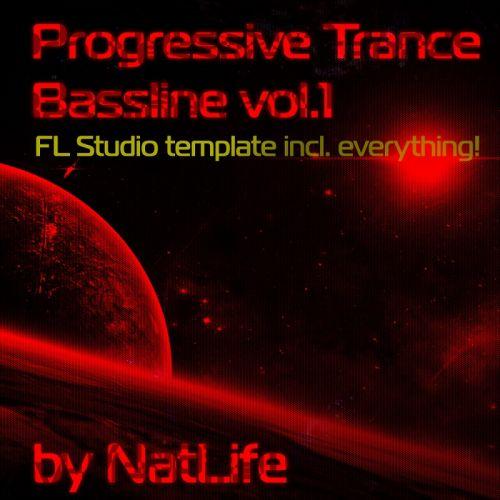 Progressive Trance Bassline vol. 1 (FL Studio 'all in one' template)