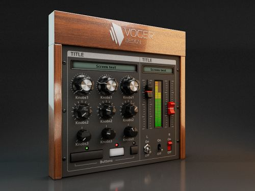 Voger Design has releases Modern UI KIT Vol1