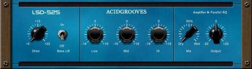 LSD-525 Amplifier & Parallell Equalizer