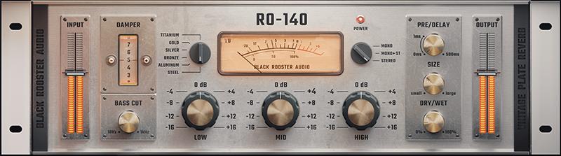 RO-140 Vintage Plate Reverb