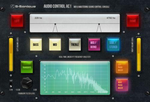 Audio control AC-1 (Mix/Mastering console)