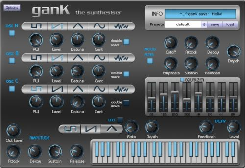 ganK the Synthesizer