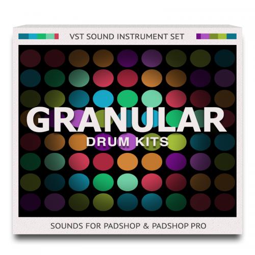 Granular Drum Kits Sound Set for PadShop and PadShop Pro